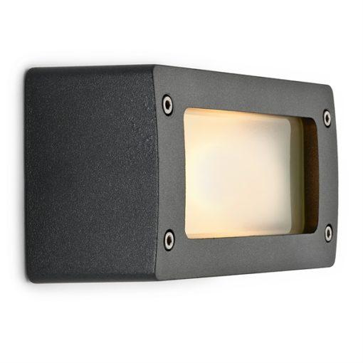 Buitenlamp grafiet