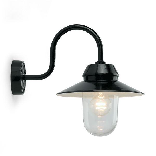 Buitenlamp zwart