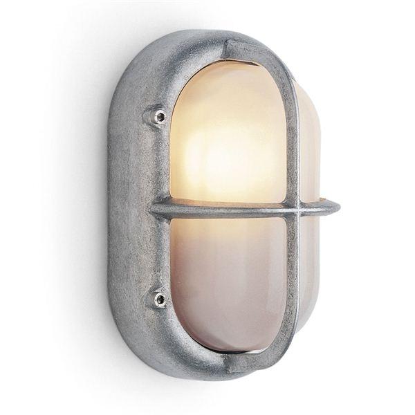 Wandlamp aluminium