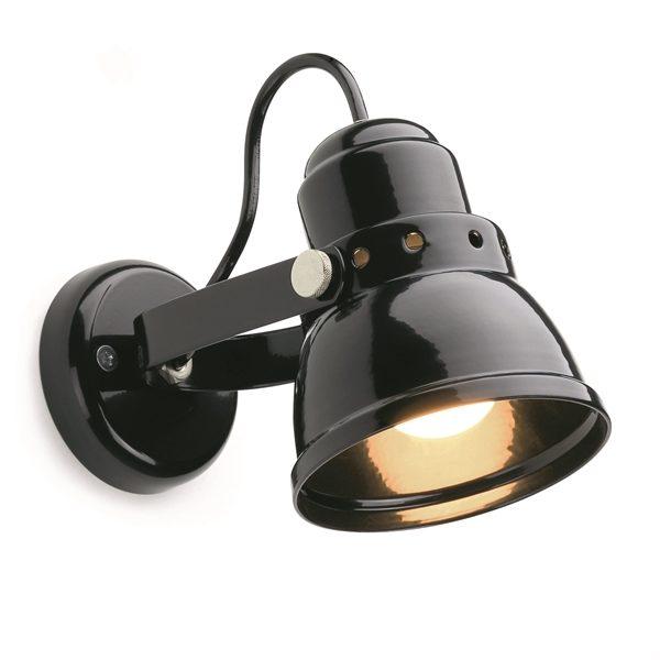 Wandlamp zwart