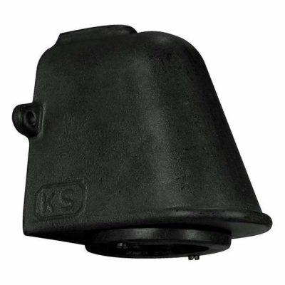 6505K4 wandlamp zwart