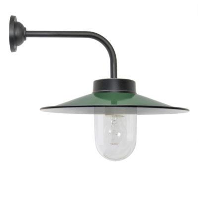 stallamp donker groen