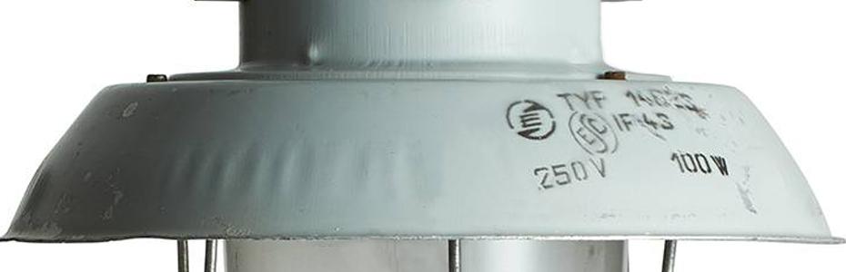 Factory 4 industriële hanglampen uit voorraad