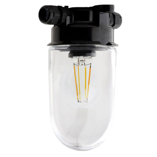 Plafondlamp-bakeliet