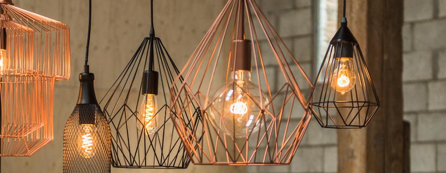 Nieuw: Spiraled lampen van Bailey