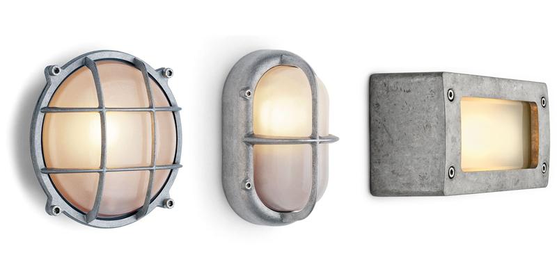 Wandlampen aluminium