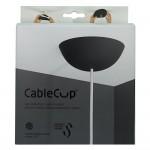 Cablecup zwart