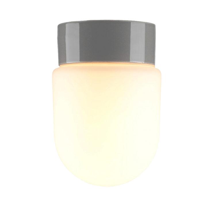 Lamphouder Ø 100 wand- en plafondlamp zwart E27